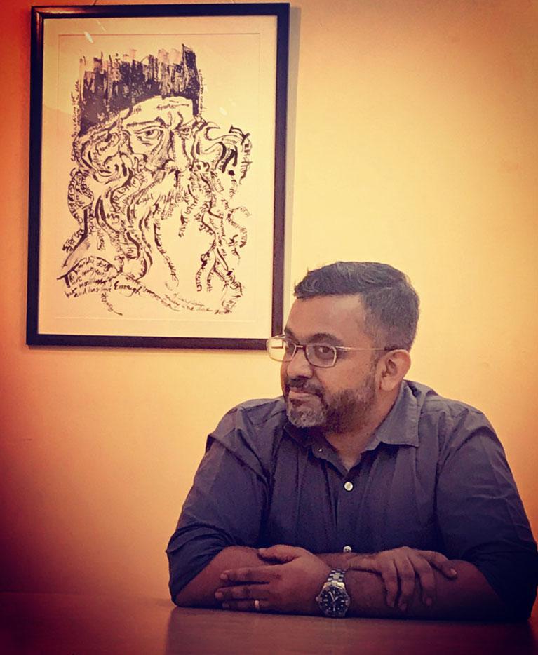 Artist Indrajit Nattoji