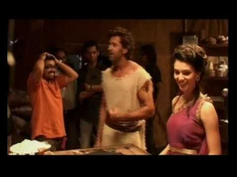 Behind the scenes with hrithik roshan